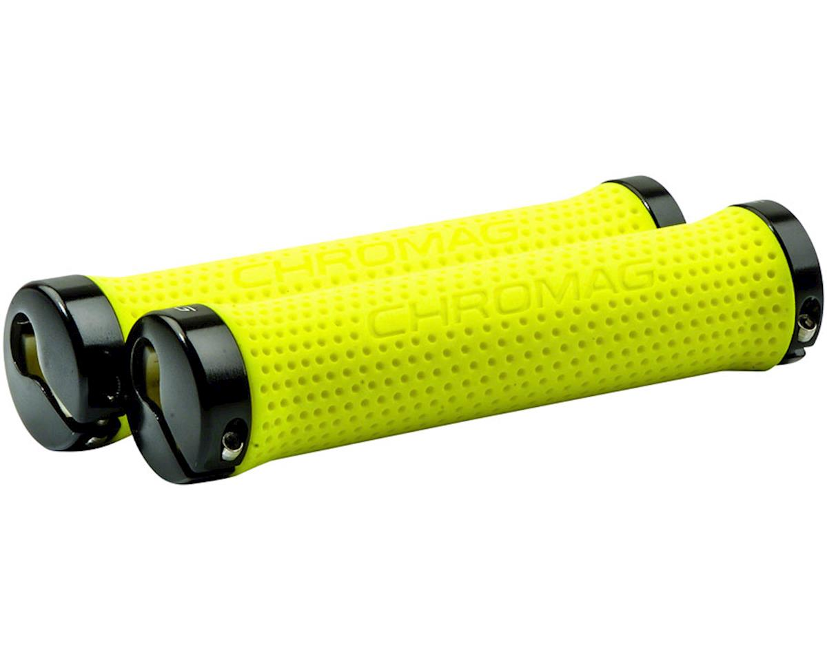 Chromag Basis Grips (Neon Yellow)