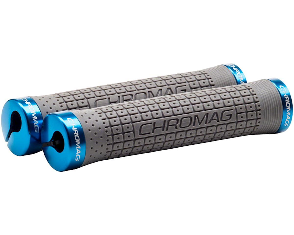 Chromag Clutch Grips (Gray/Blue)