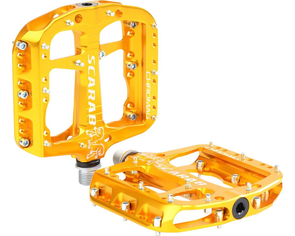 "Chromag Scarab Platform Pedals (Gold) (9/16"")"