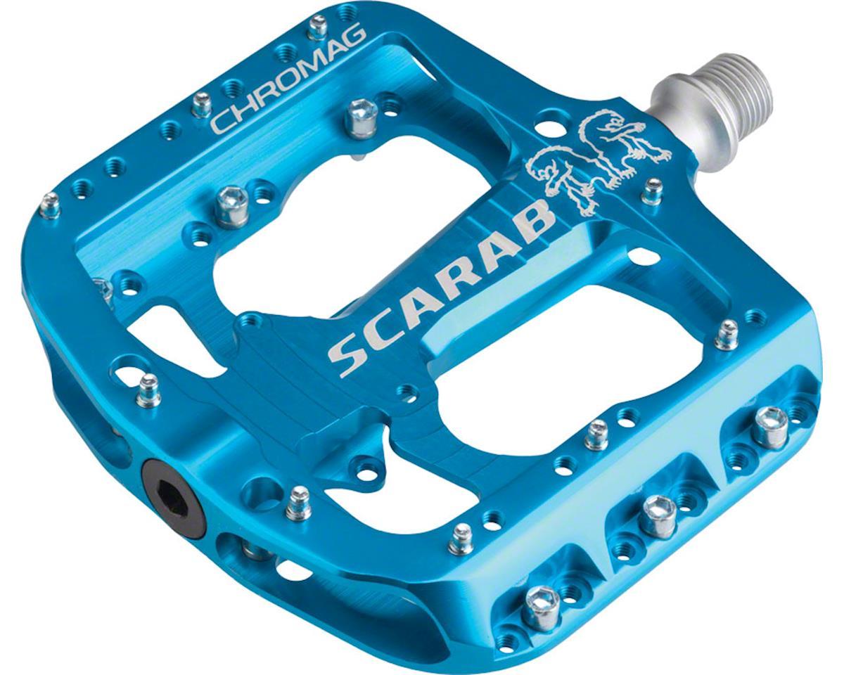 "Scarab Platform Pedals (Blue) (9/16"")"