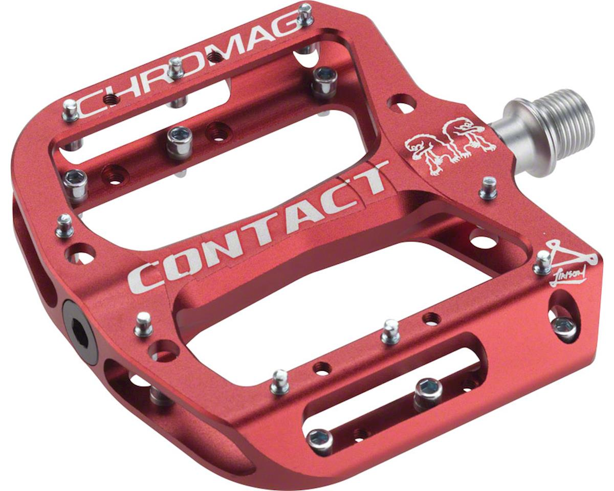 "Chromag Contact Pedals (Red) (9/16"")"