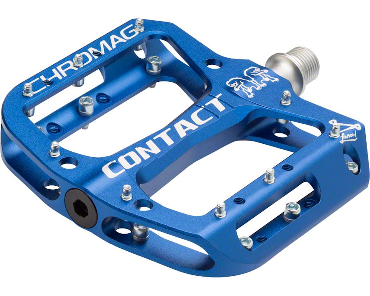 "Chromag Contact Pedals (Dark Blue) (9/16"")"