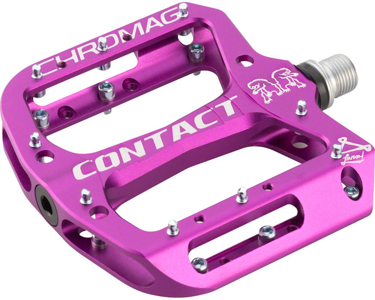 "Chromag Contact Pedals (Purple) (9/16"")"