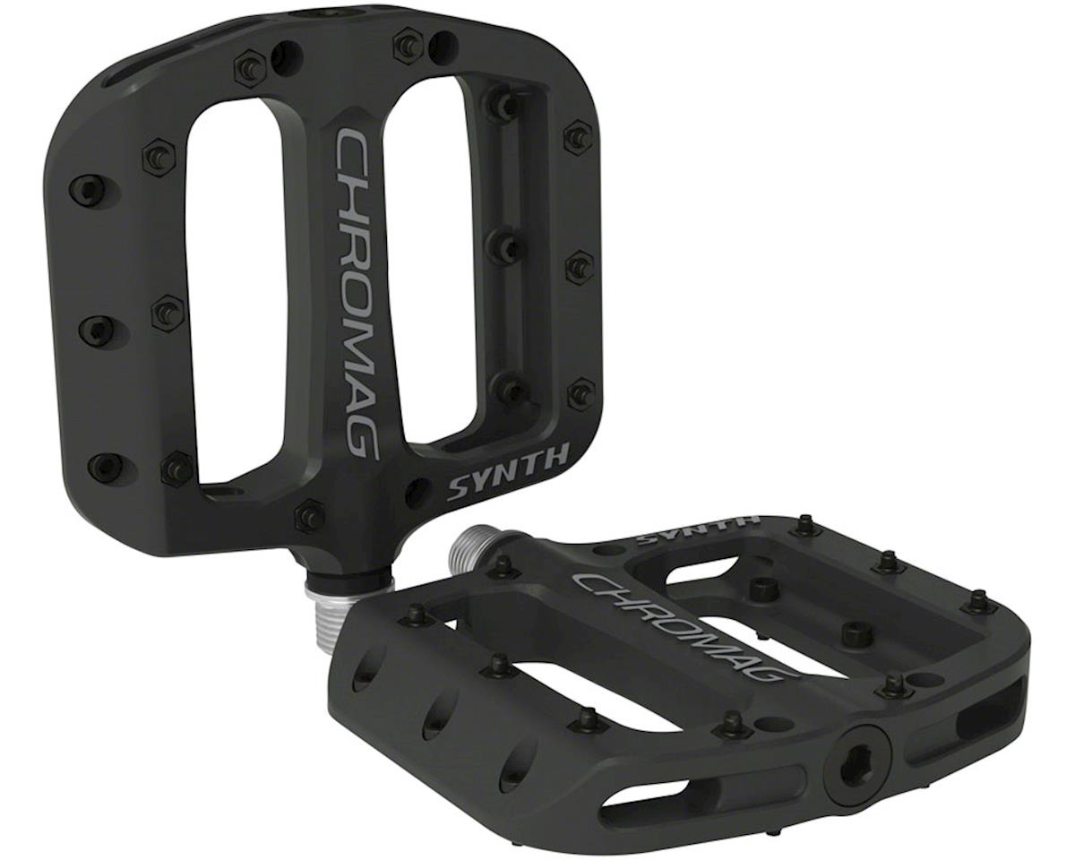 "Chromag Synth Composite Platform Pedals (Black) (9/16"")"