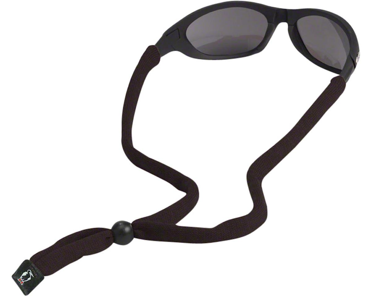 Chums Original Cotton Eyewear Retainer (Standard End) (Black) (1)