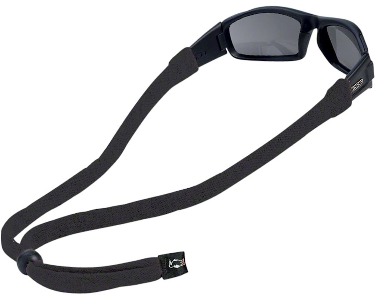 Chums Original Cotton Eyewear Retainer (Large End) (Black) (1)