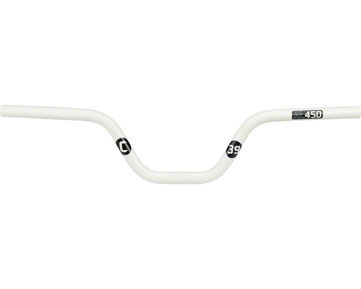 "Ciari Attabar AL450 BMX Handlebar - 4.5"", White"