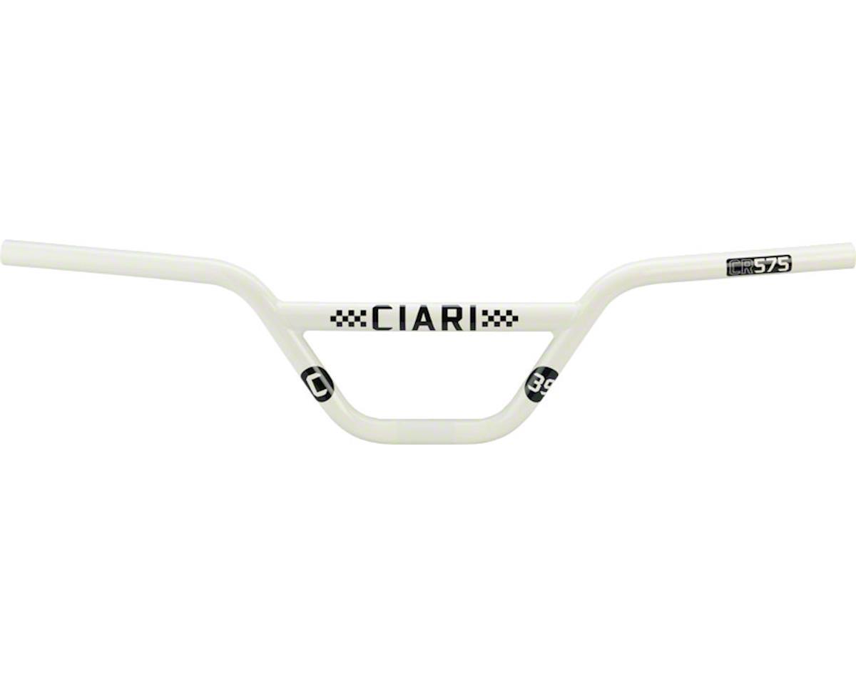 "Ciari Crossbow CM575 BMX Handlebar - 5.75"", White"