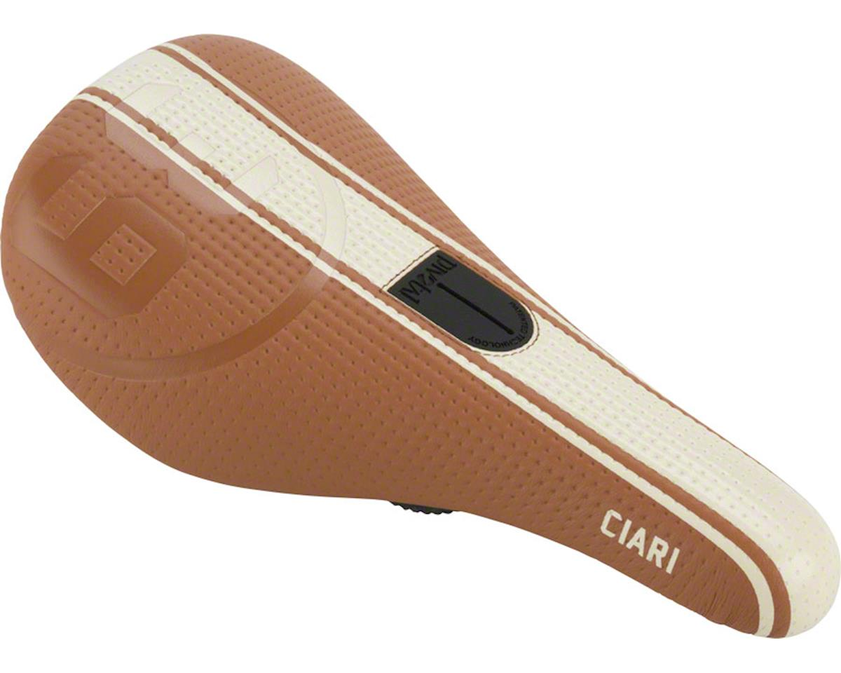 Ciari Corsa 39 Due Expert Pivotal Seat Genuine Leather Tan with White Stripes