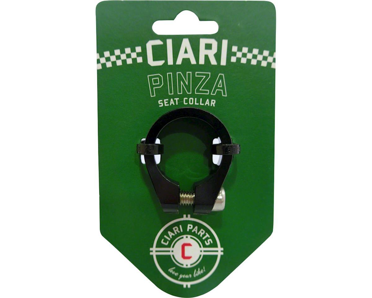 Pinza Seat Collar 25.4mm Black