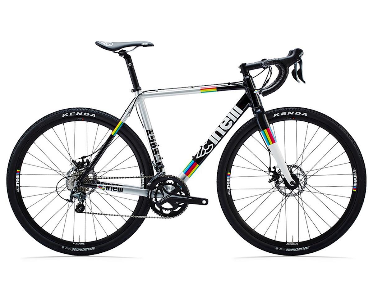 "5/"" ALEX RIMS White//Black Road Tri Mountain Commute Race Bike Frame Sticker Decal"