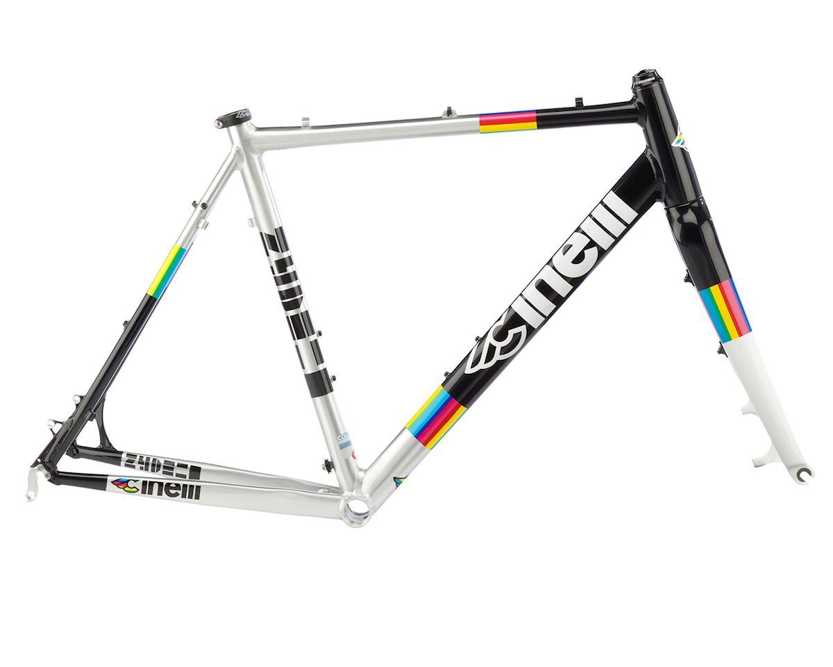 Cinelli Zydeco Aluminum CX Frameset (Rainbow)