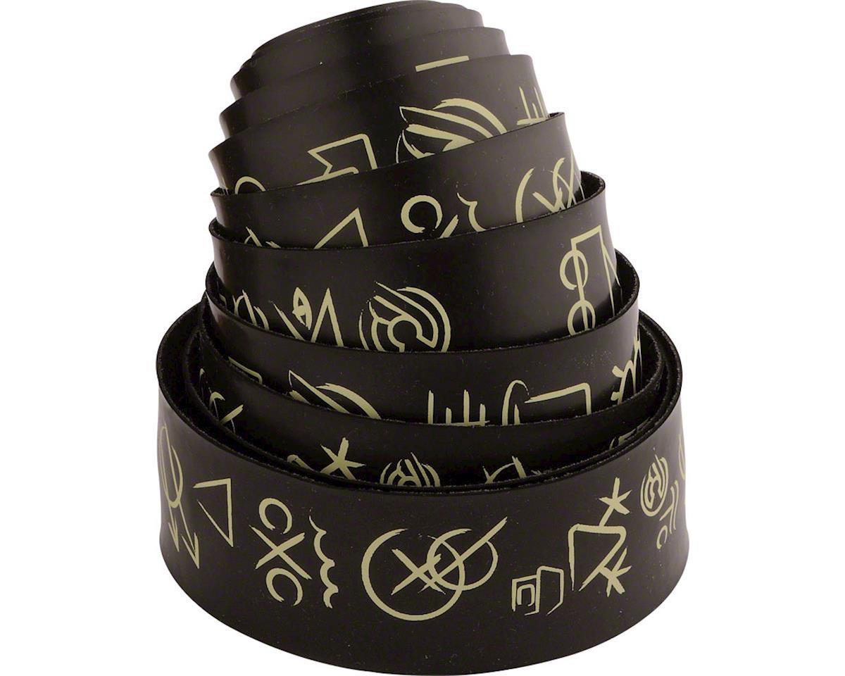 Cinelli Hobo Alphabet Volee Ribbon Handlebar Tape, Black
