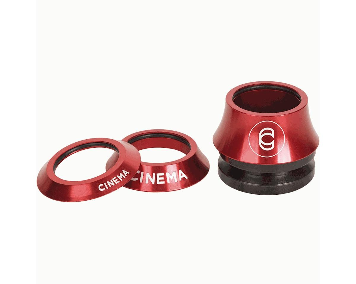 Lift Kit Cinema BMX Headset 1 1//8 Integrated Red