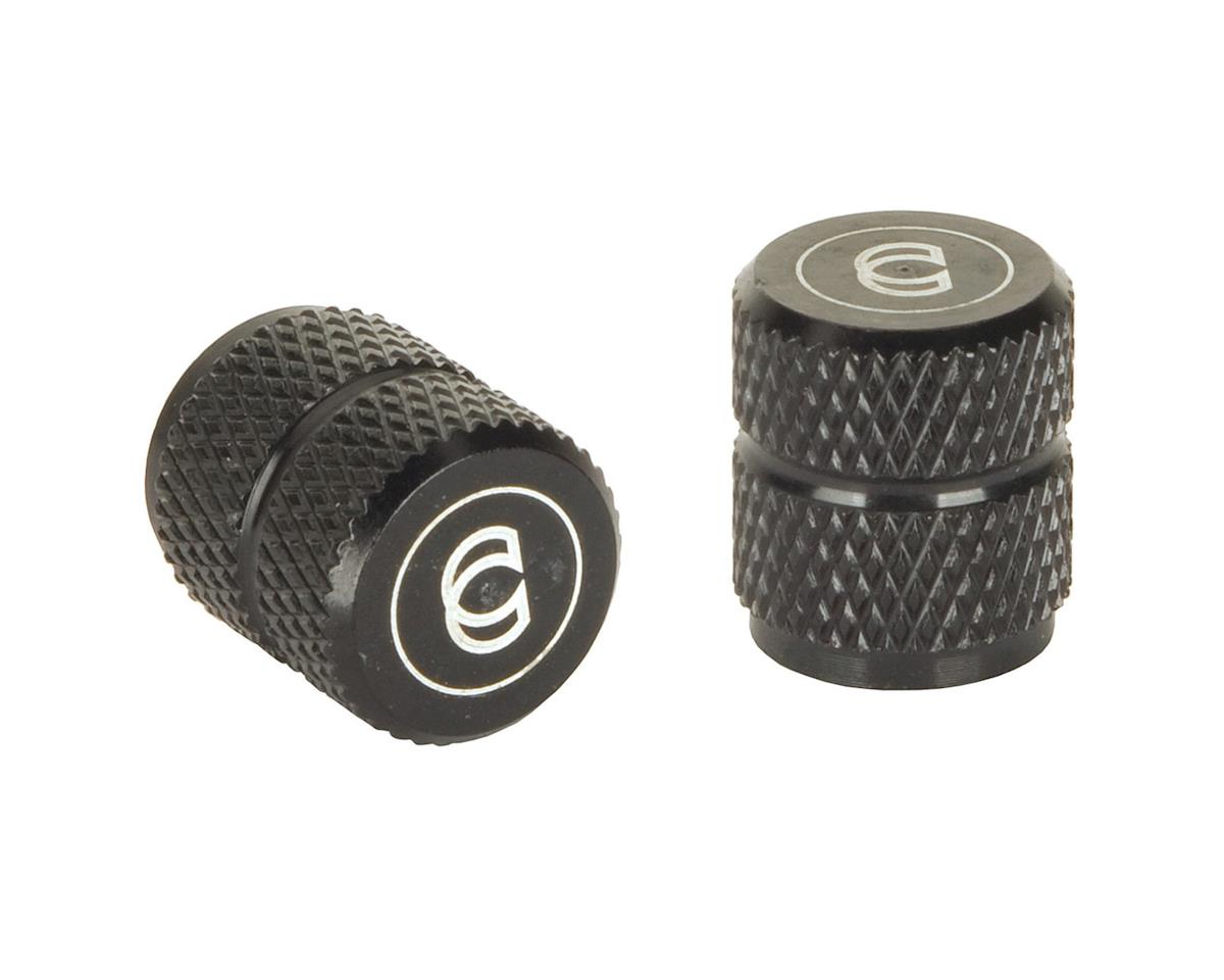 Cinema Alloy Valve Caps (Schrader) (Black)