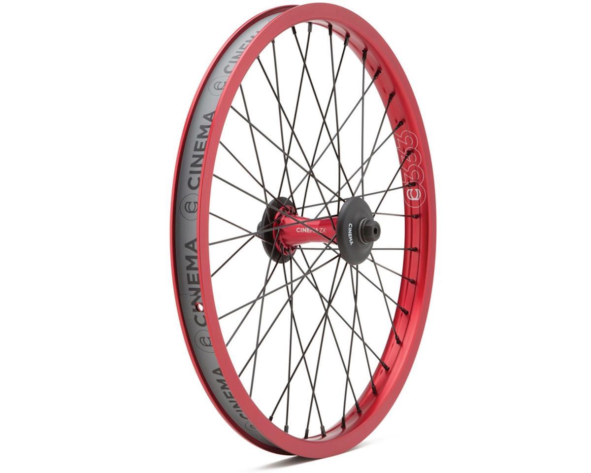 "Cinema ZX Front Wheel (Red) (20 x 1.75"")"