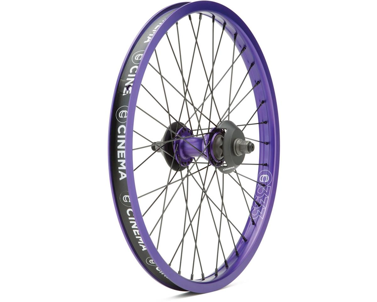 "Cinema ZX Cassette Wheel (Purple) (20 x 1.75"")"