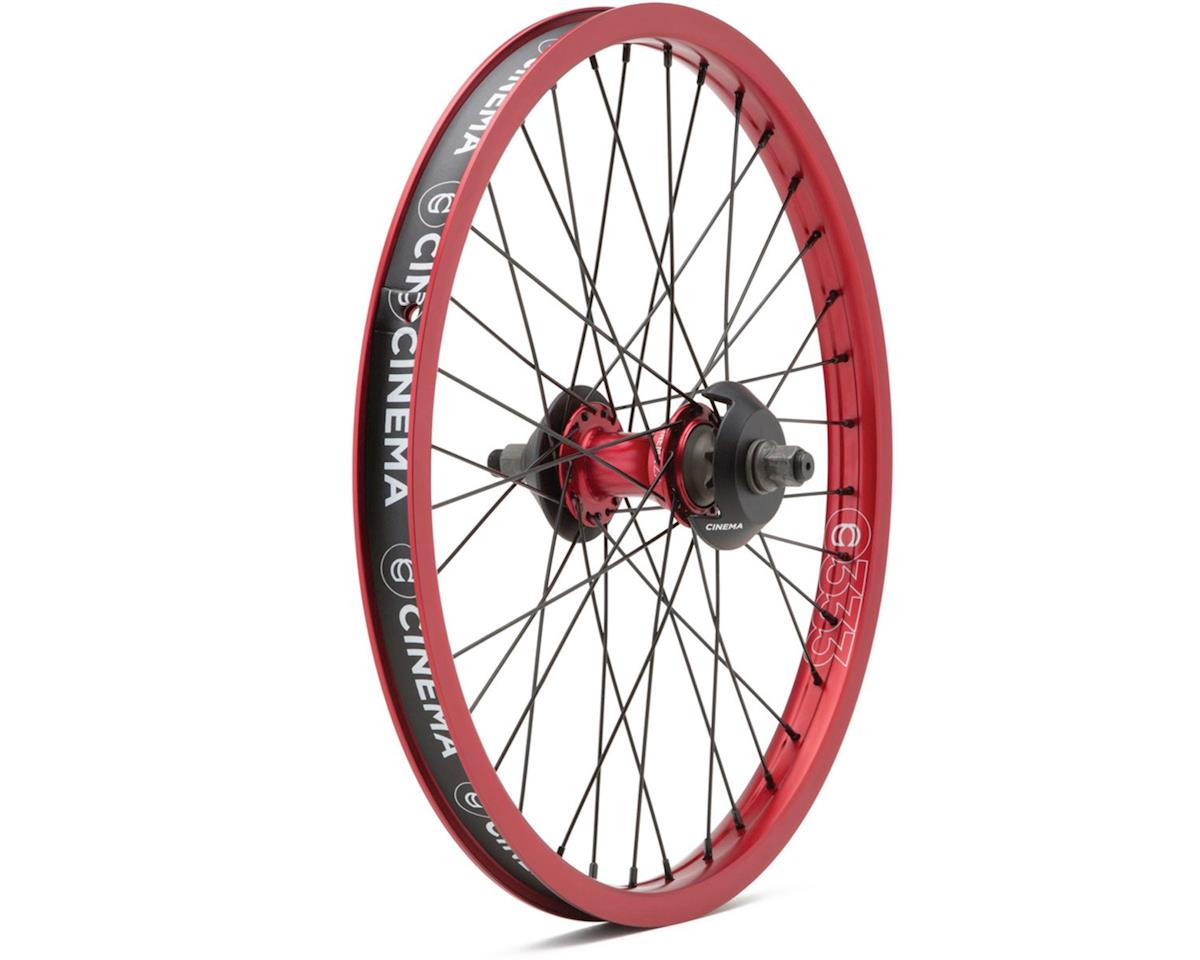 "Cinema ZX Cassette Wheel (Red) (20 x 1.75"")"