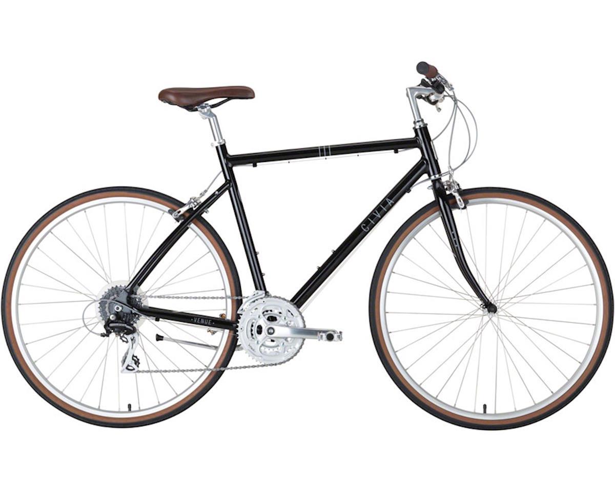 Civia Venue 24-Speed Aluminum Bike (Black)