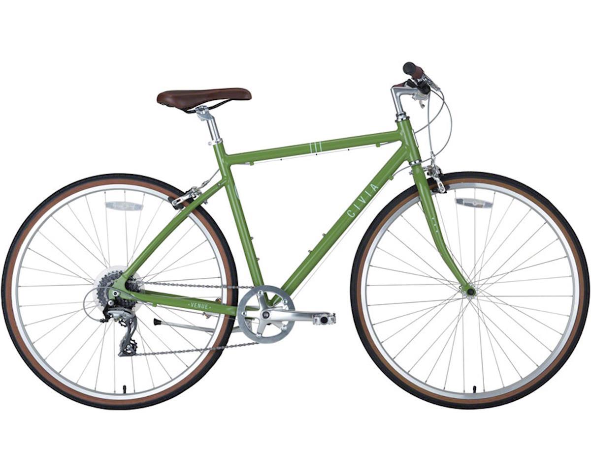 Civia Venue Bike: 1x8 Avocado Green SM