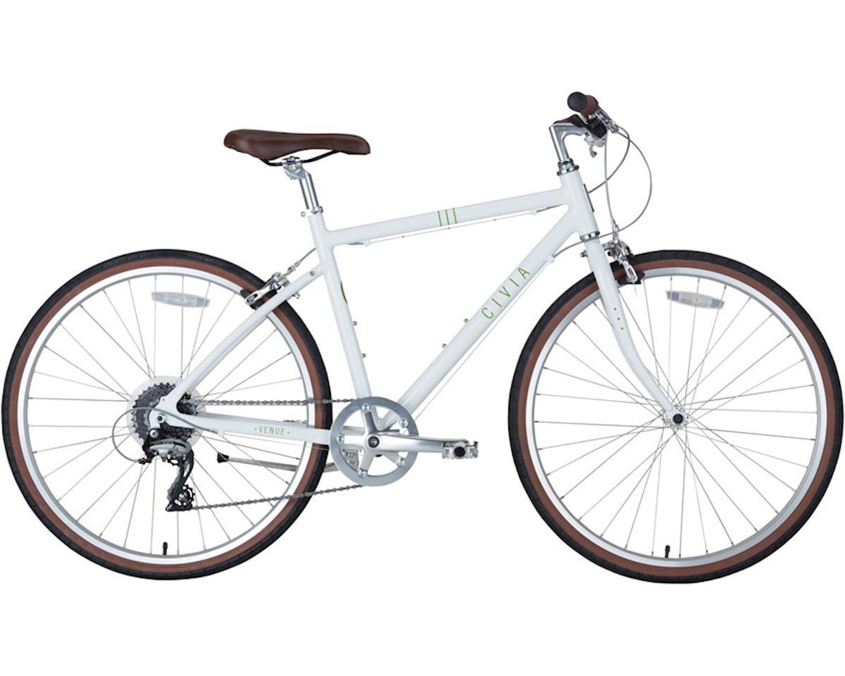 Civia Venue Bike: 1x8 White SM