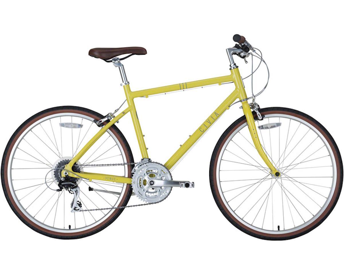 Civia Venue Bike: 3x8 Mustard Yellow LG