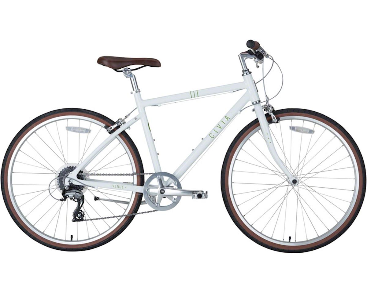 Civia Venue Bike: 1x8 White MD