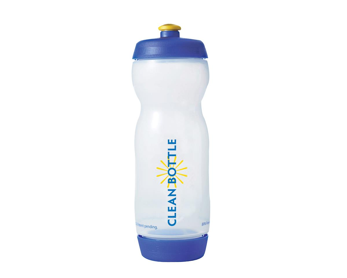 Bottle Clean Bottle (Clear/Blue) (22oz)