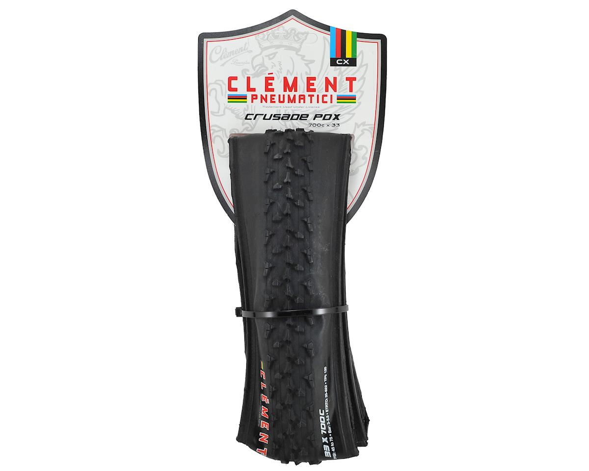 Clement Crusade PDX CX Tire (Black) (Folding Bead) (700 x 33)