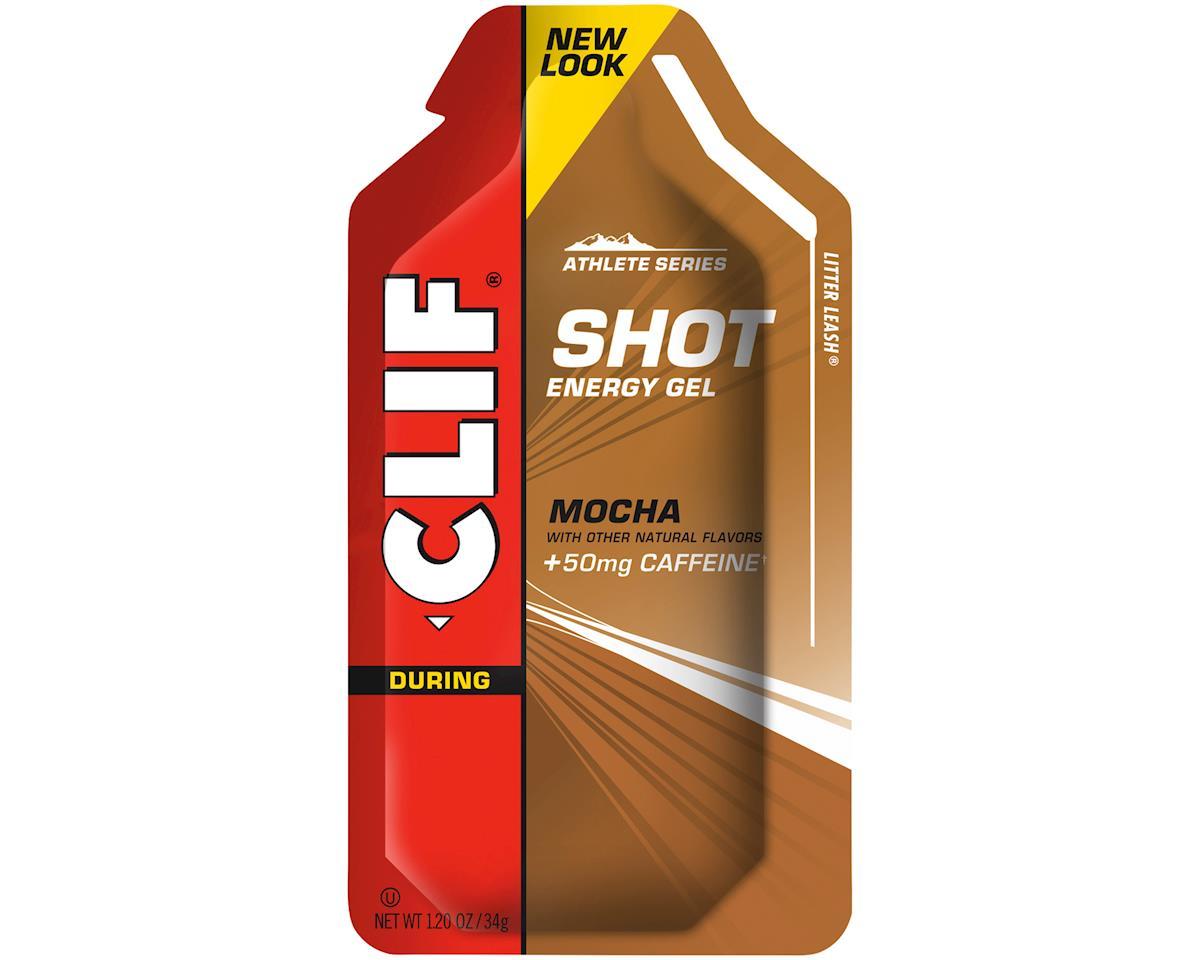 Clif Bar Shot Gel (Mocha) (w/ Caffeine) (24)
