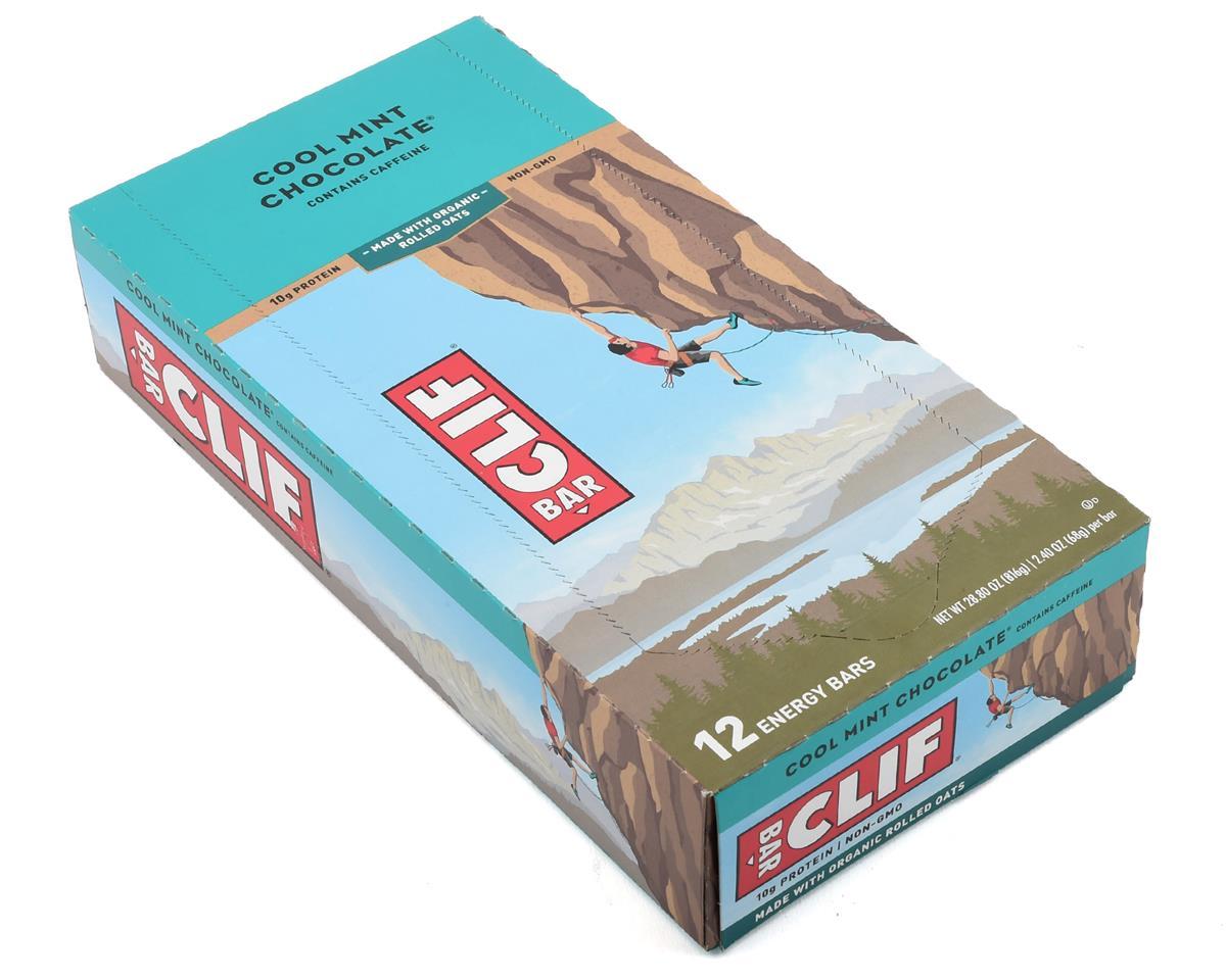clif bar original cool mint chocolate w/ caffeine 12