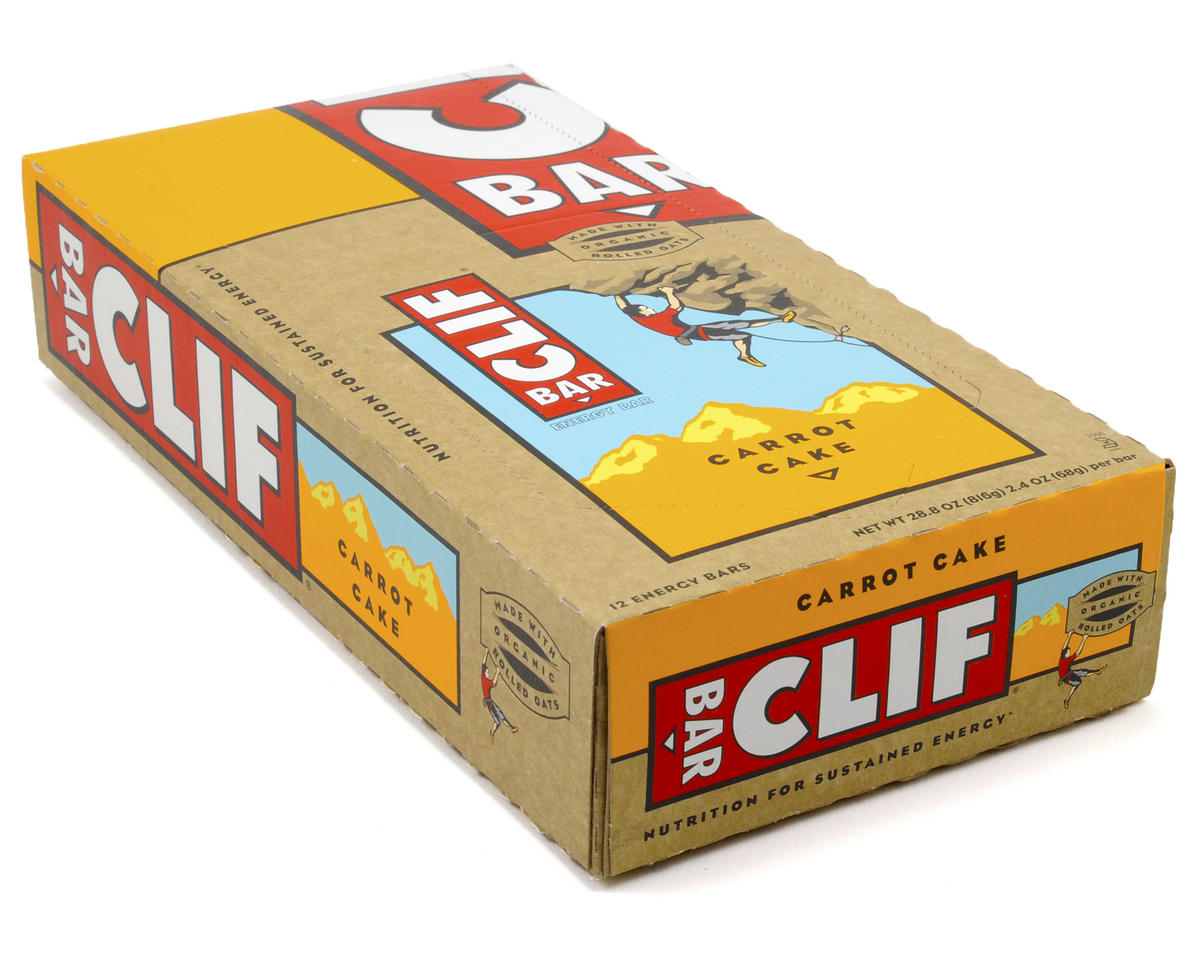 Clif Bar Original (Carrot Cake) (12) (12 2.4oz Packets)