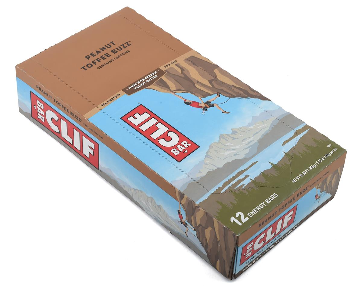 Clif Bar Original (Peanut Toffee Buzz) (w/ Caffeine) (12) (12 2.4oz Packets)
