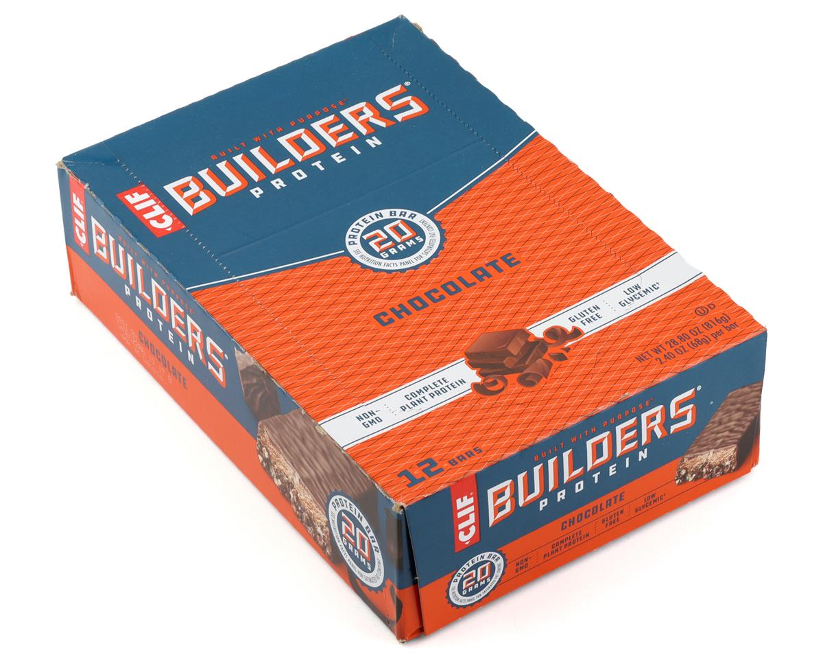 Clif Bar Builder's Bar (Chocolate) (12) (12 2.4oz Packets)