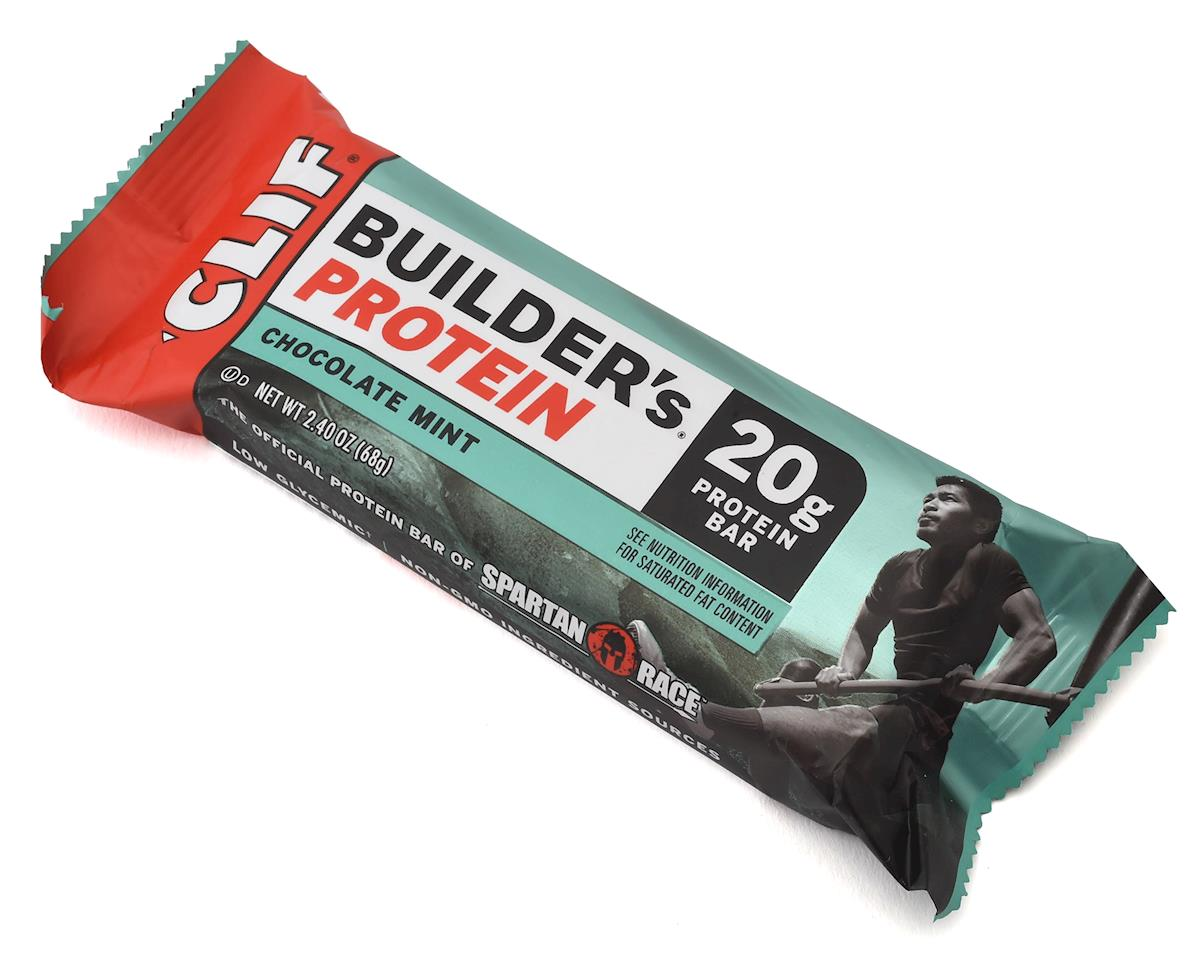 Clif Bar Builder's Bar (Chocolate Mint) (12) (12 2.4oz Packets)