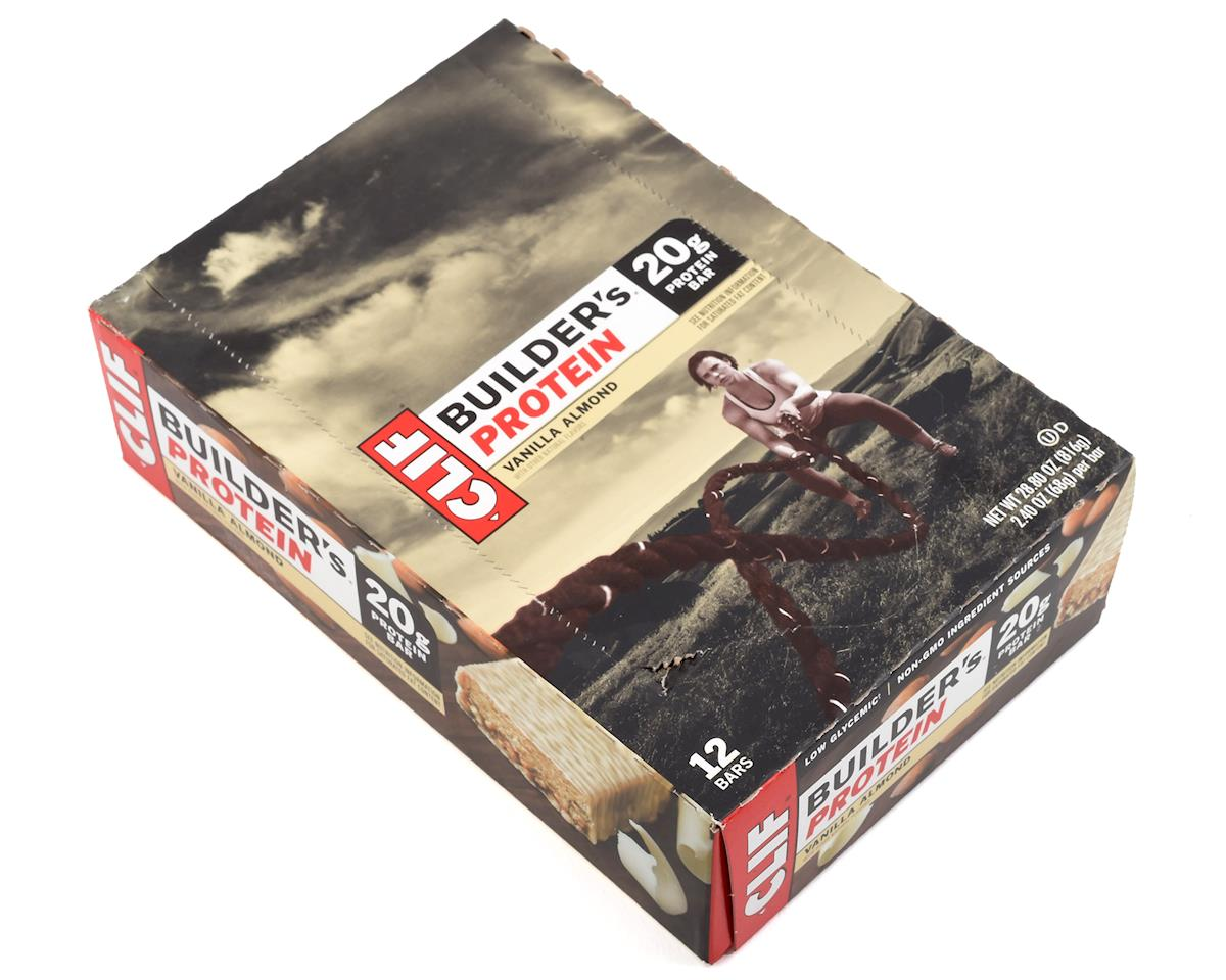 Clif Bar Builder's Bar (Vanilla Almond) (12) (12 2.4oz Packets)
