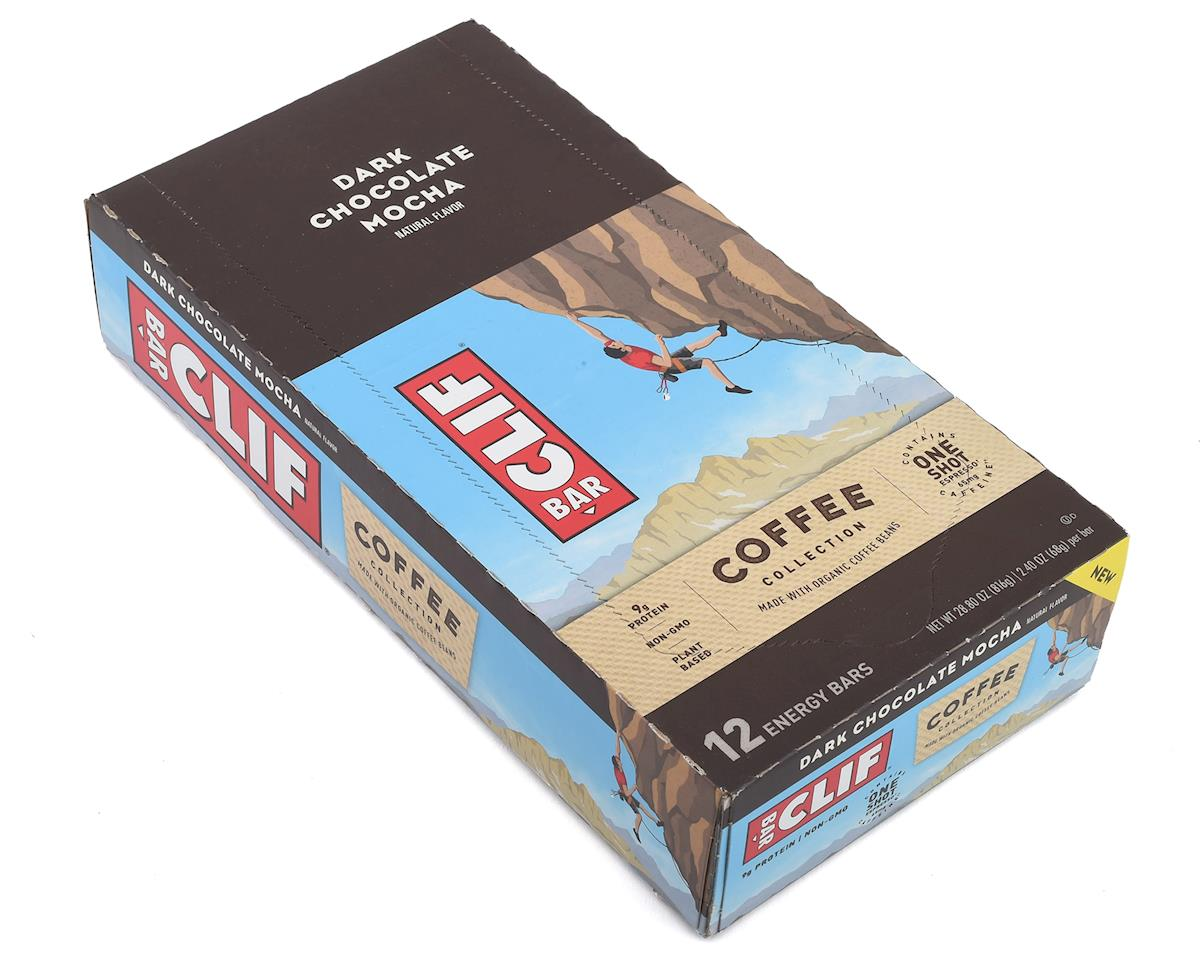Clif Bar Dark Chocolate Mocha Coffee Bar (Box of 12)