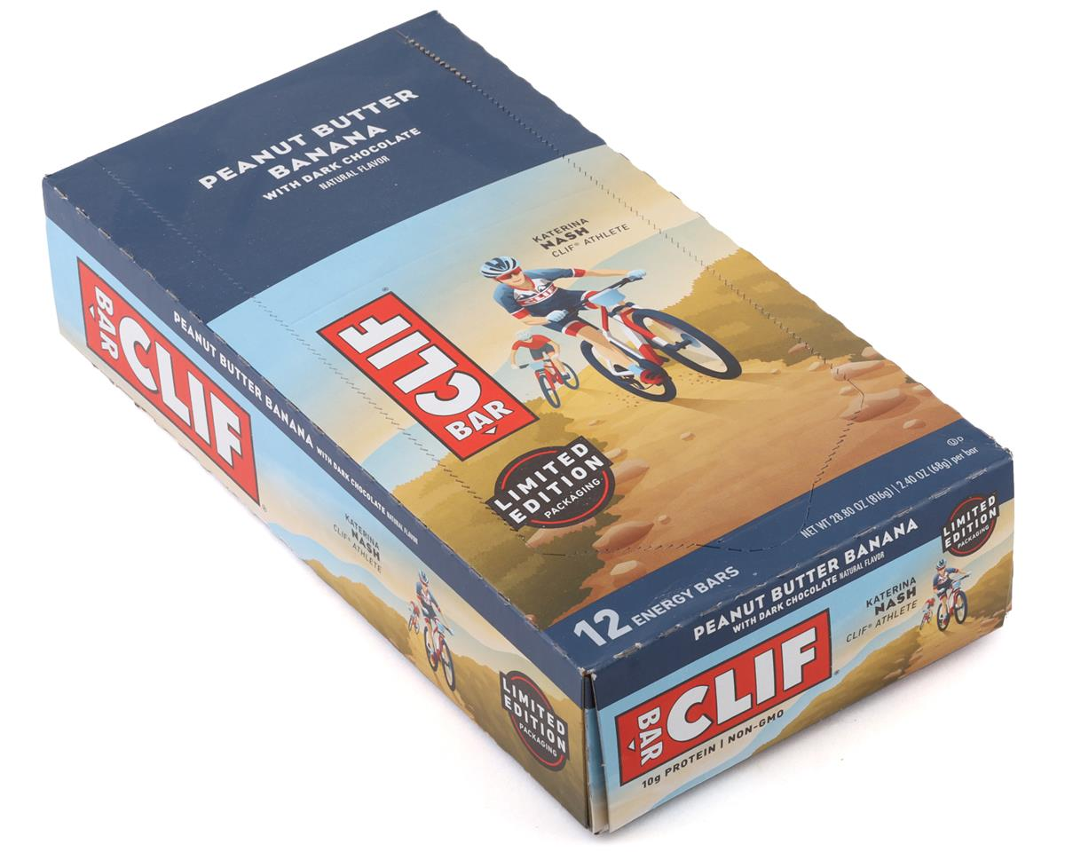 Clif Bar Original (Peanut Butter Banana Dark Chocolate) (12) (12 2.4oz Packets)