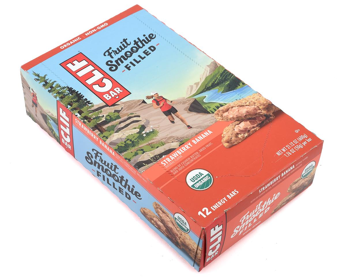 Clif Bar Fruit Smoothie Bars (Strawberry Banana) (12) (12 1.76oz Packets)