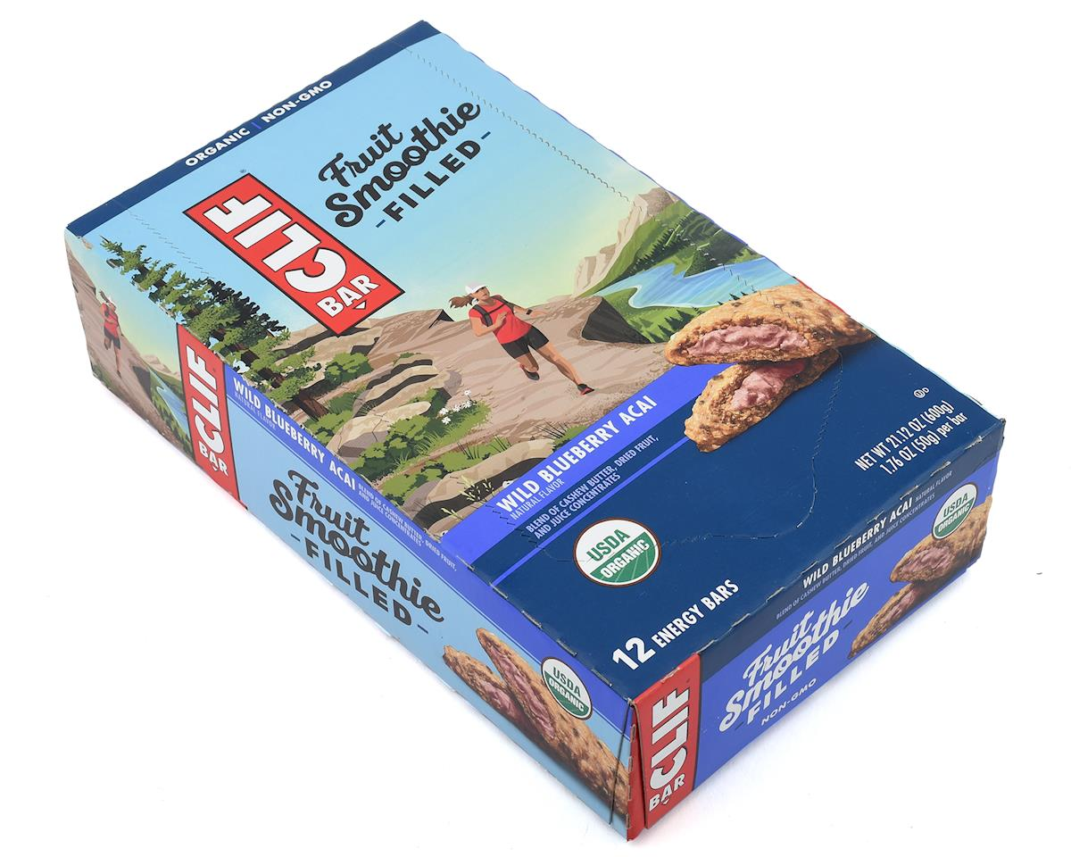 Clif Bar Fruit Smoothie Bars (Wild Blueberry Acai) (12) (12 1.76oz Packets)