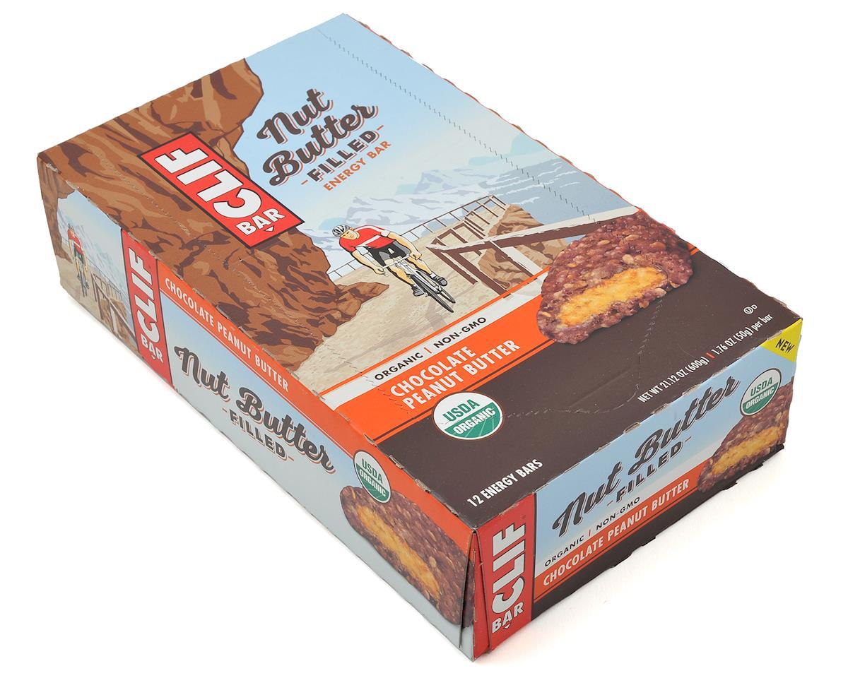 Clif Bar Nut Butter Filled Bar (Chocolate Peanut Butter) (12) (12 1.76oz Packets)