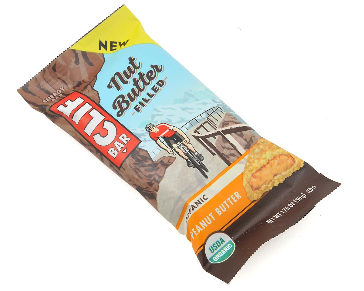 Clif Bar Nut Butter Filled Bar (Peanut Butter) (12 1.76oz Packets)