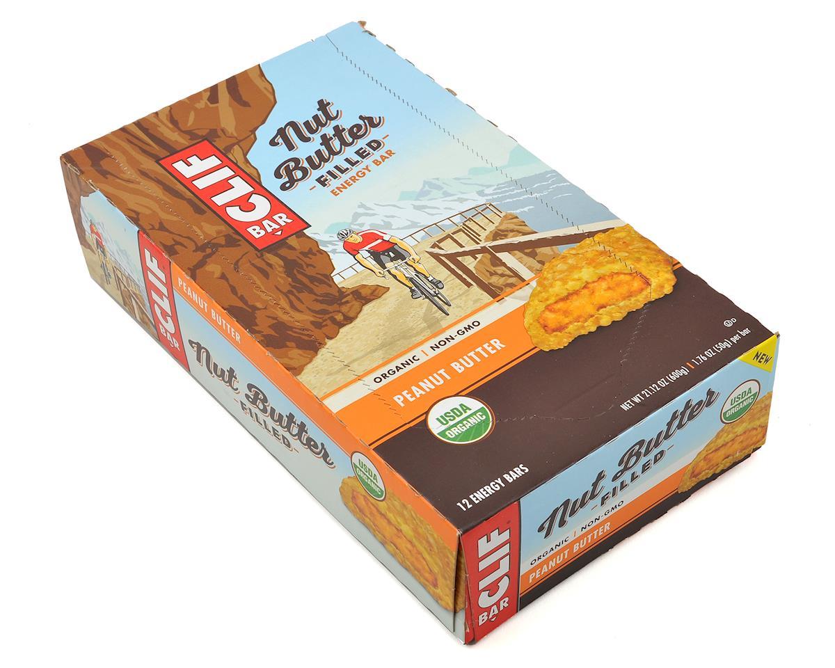 Clif Bar Nut Butter Filled Bar (Peanut Butter) (12 1.76oz Packets)