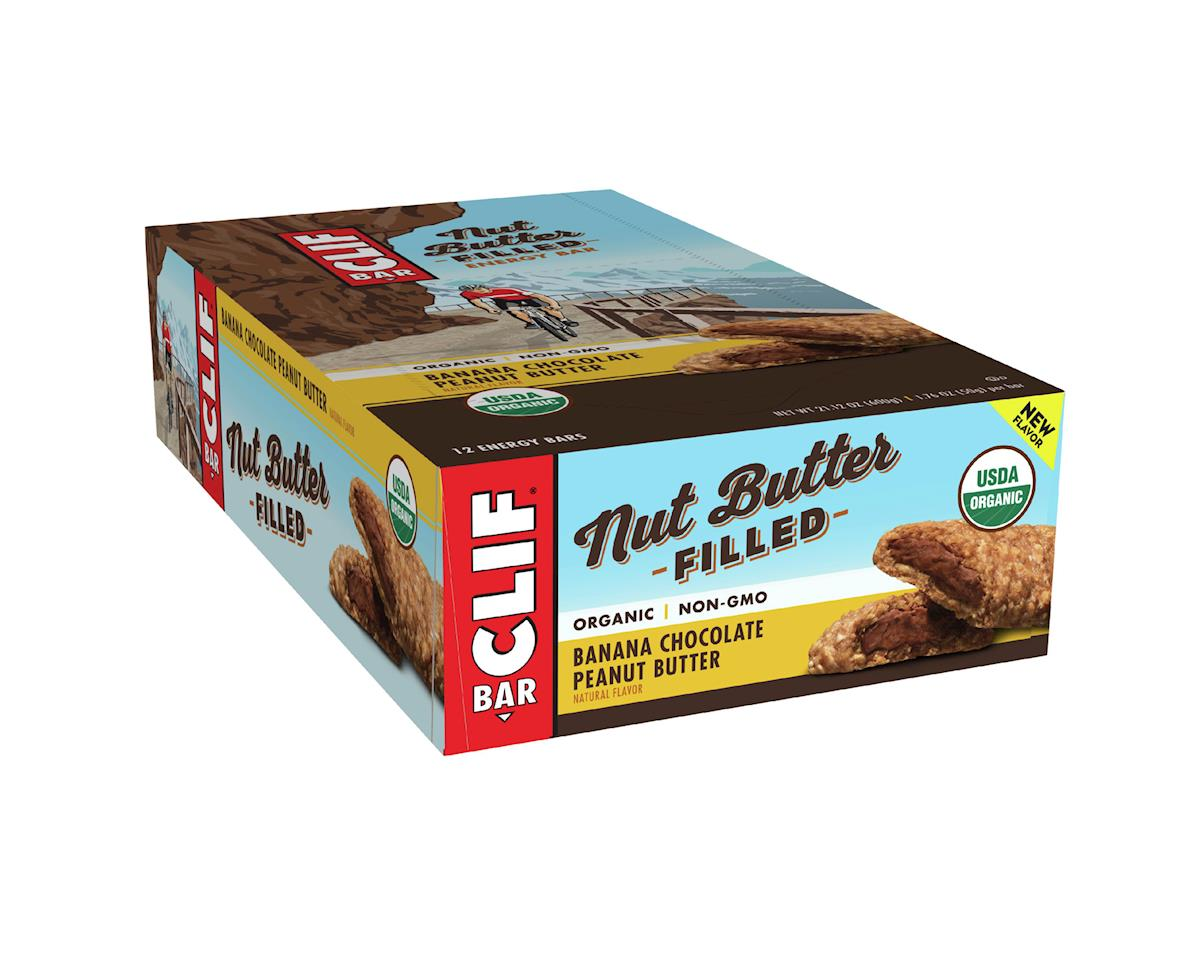Clif Bar Nut Butter Filled (Banana Chocolate Peanut Butter) (12) (12 1.76oz Packets)