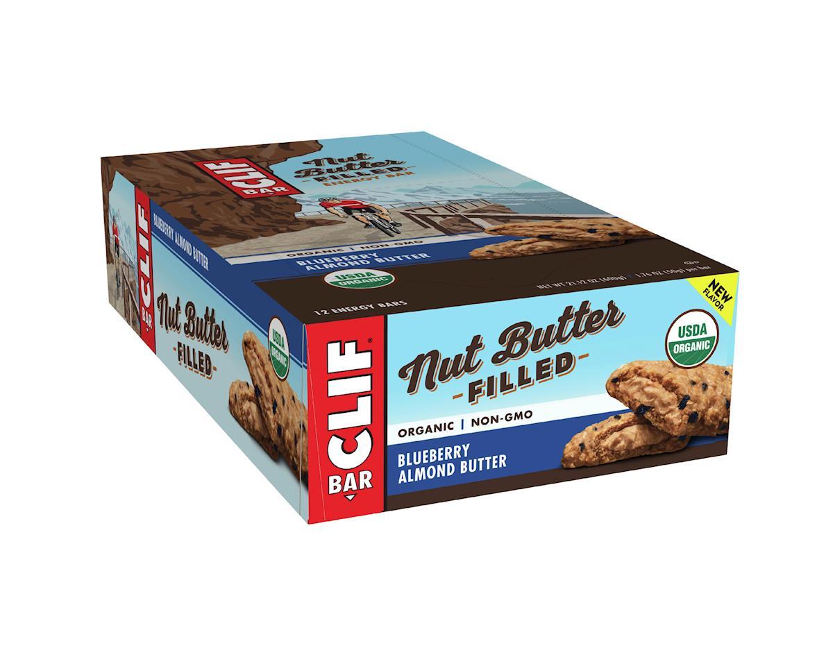 Clif Bar Nut Butter Filled (Blueberry Almond Butter) (12) (12 1.76oz Packets)