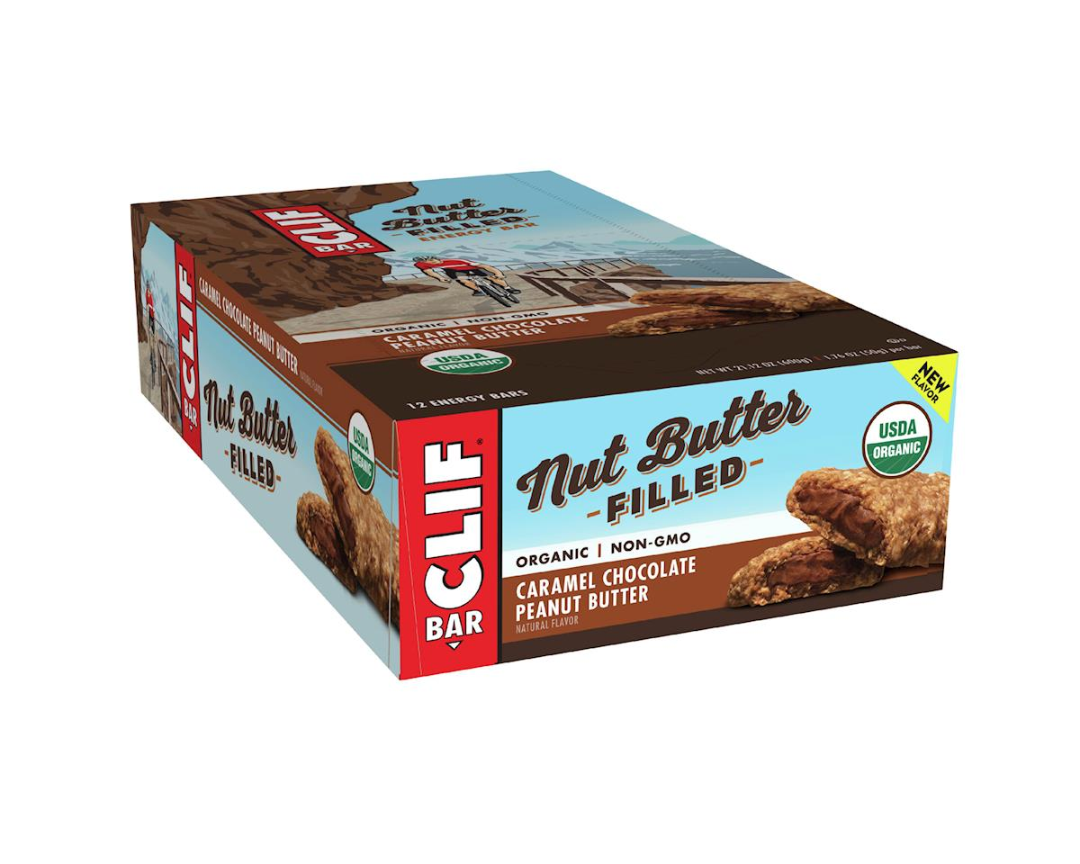 Clif Bar Nut Butter Filled (Caramel Chocolate Peanut Butter) (12) (12 1.76oz Packets)