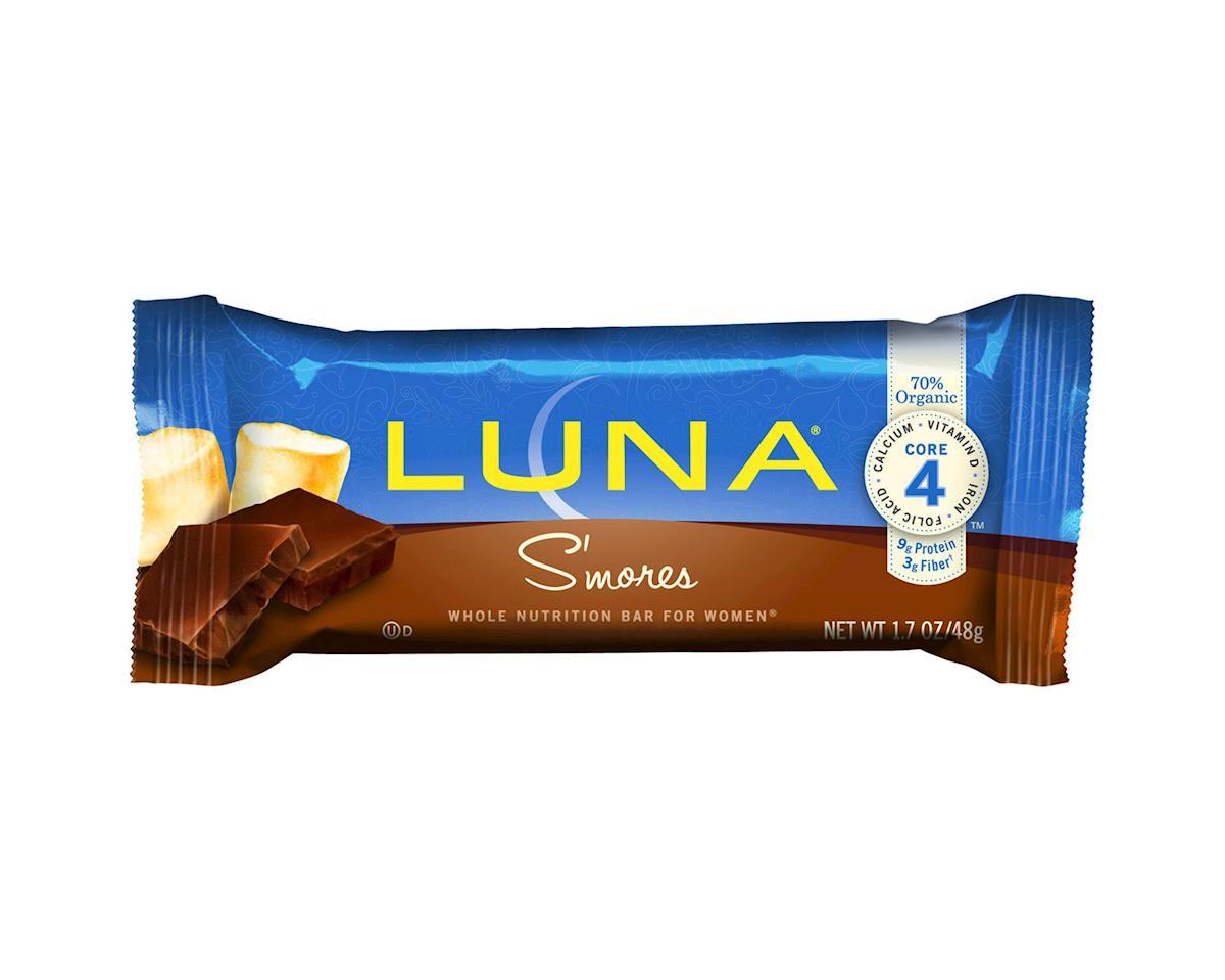 Clif Bar Luna Bar (S'Mores) (15) (15 1.69oz Packets)