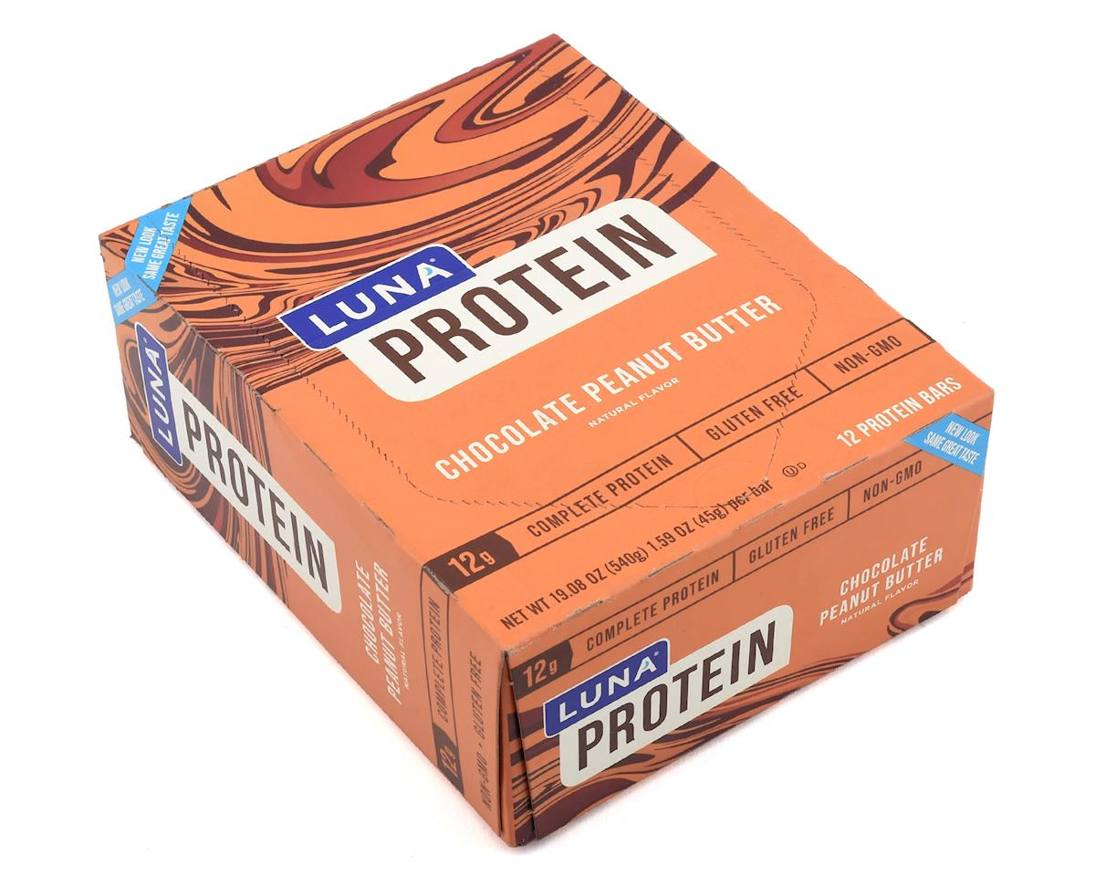 Clif Bar Luna Protein Bar (Chocolate Peanut Butter) (12) (12 1.59oz Packets)