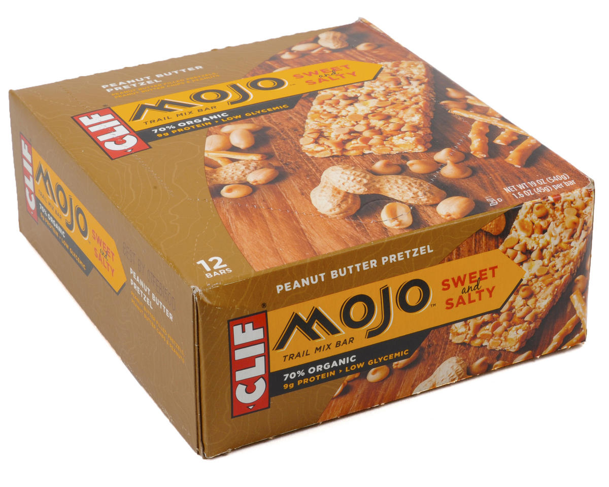 Clif Bar Mojo Sweet & Salty Trail Mix Bar (Peanut Butter Pretzel ) (12)