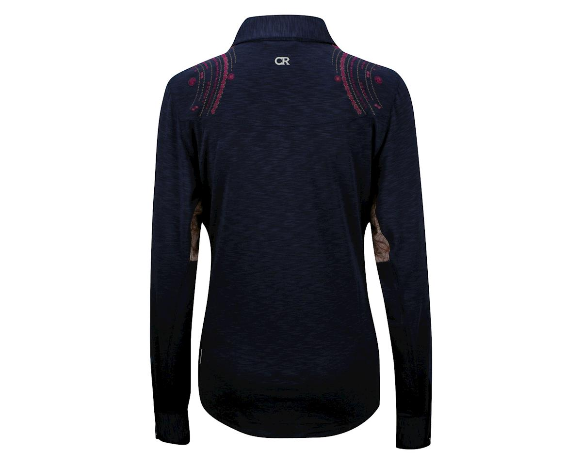 Club Ride Women's Jill Long Sleeve Jersey (Navy)